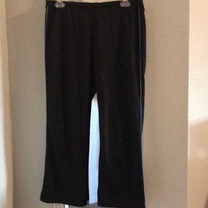 Black work out pants size large